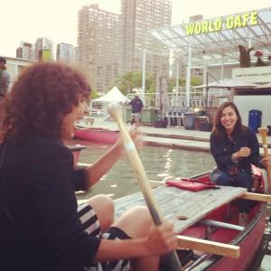 Canoe Picnic performance, Harbourfront Centre, Toronto
