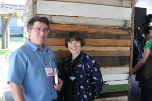 Layne Hinton & Author Russell Wangersky